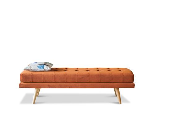 Elmas Velvet Bench Clipped