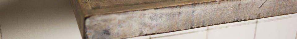 Material Details Epicure wall shelf