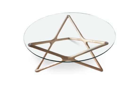 Estrella glass coffee table Clipped