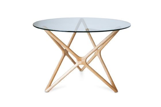 Estrella glass dining table Clipped