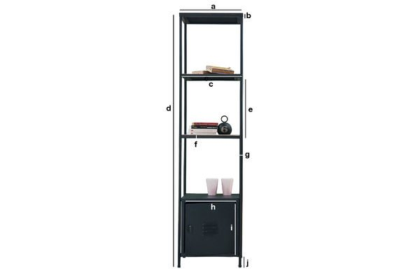 Product Dimensions Etel shelf