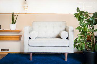 Fabric Armchair Silkeborg