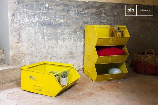 Félix 4-tray storage