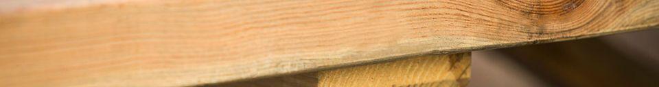 Material Details Felix wood table