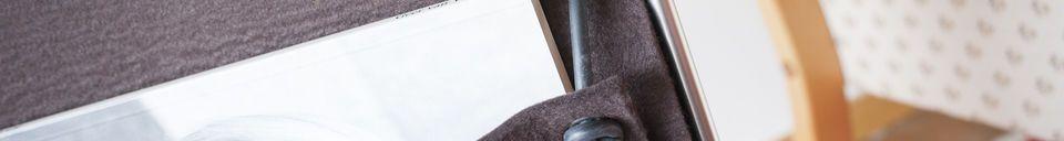 Material Details Felt magazine holder Strandis