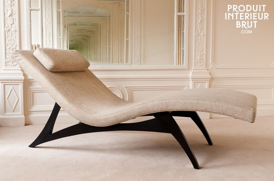 Five chaise longue
