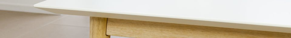 Material Details Fjord rectangular coffee table