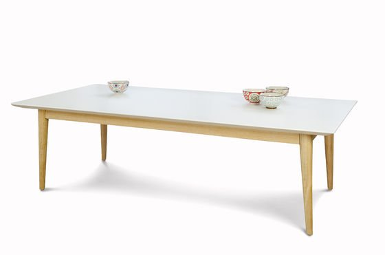 Fjord rectangular coffee table Clipped