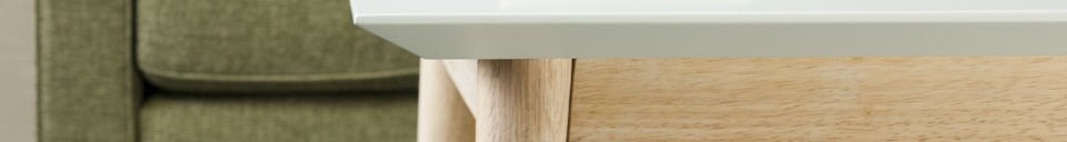 Material Details Fjord square coffee table