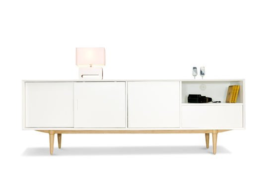 Fjord wooden sideboard Clipped