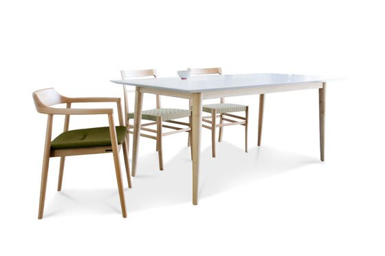 Fjord wooden table Clipped
