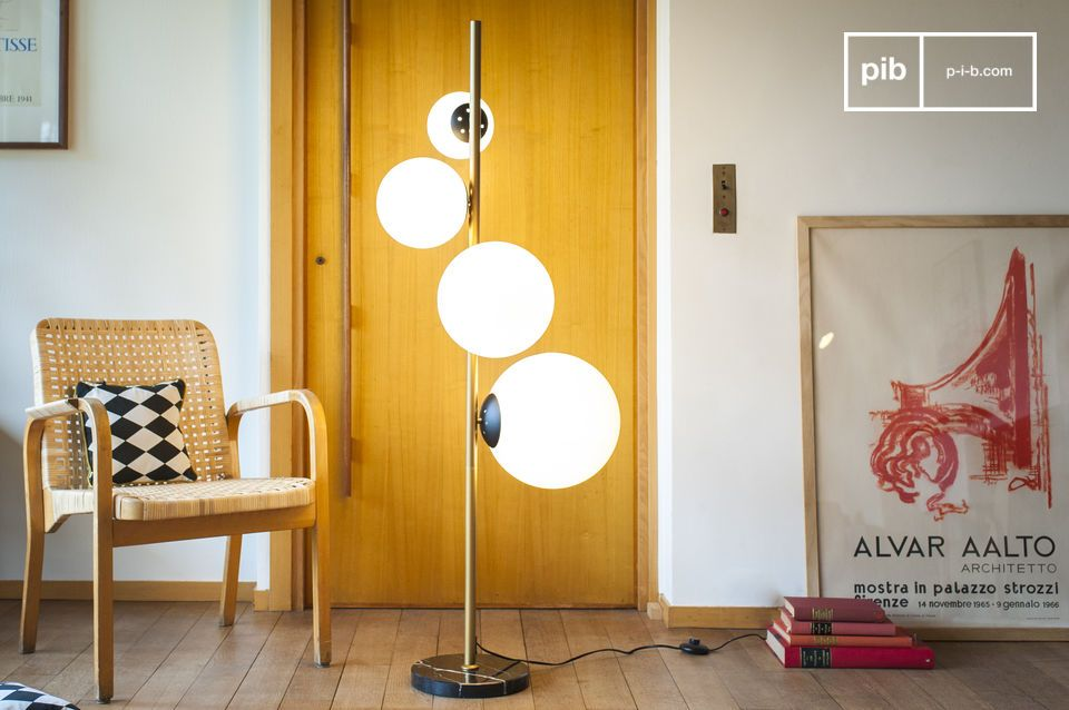 Floor lamp 4 lamps Canaveral