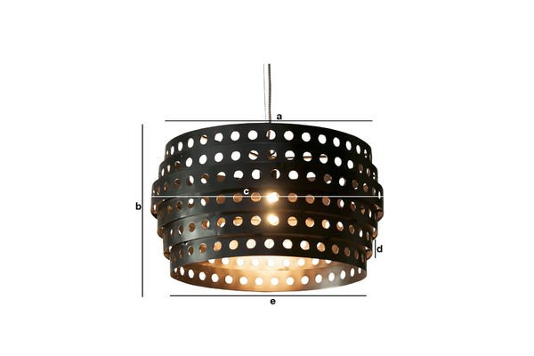 Product Dimensions Folane hanging light