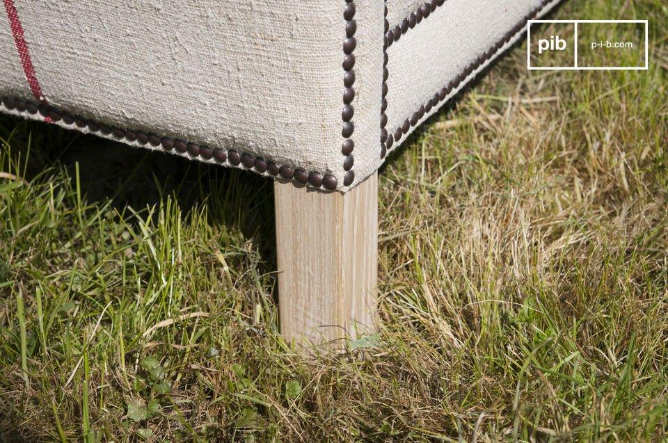 Light oak leg frame