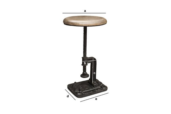 Product Dimensions Foundry Stool