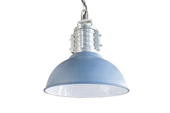 Friedler industrial suspension lamp Clipped