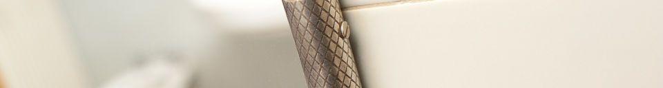 Material Details Gabin chain wall mirror