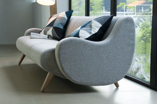 Geneva three-seater sofa
