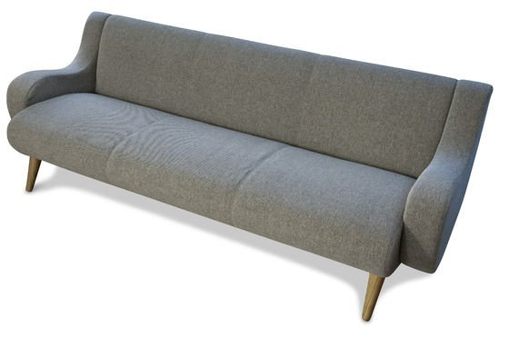 Geneva three-seater sofa Clipped