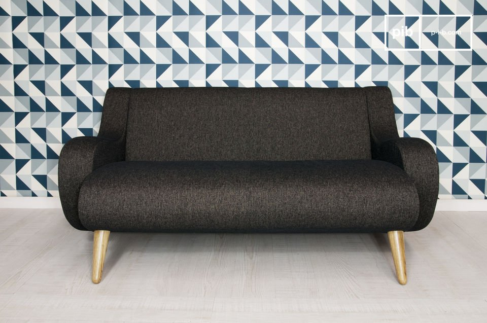 Go for a sofa with style, and particularly pleasing curves!  Also available in grey