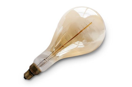 Giant bulb with long filament Clipped