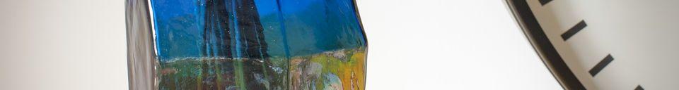 Material Details Glass vase Ingeborg