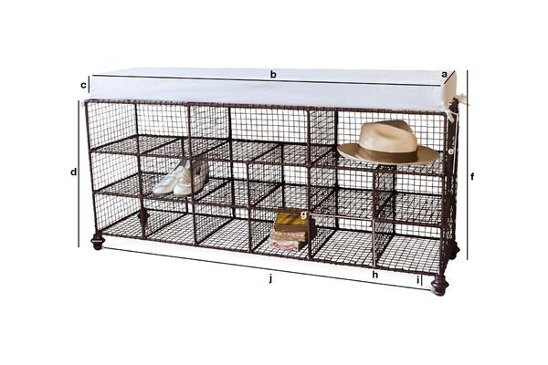 Product Dimensions Gradel shoe rack