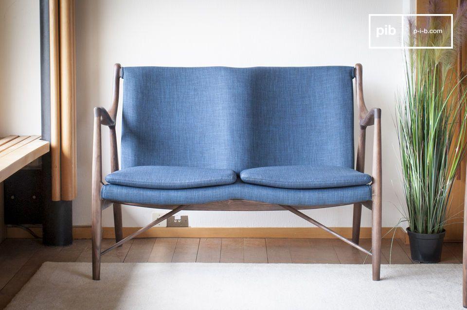 Graham ash double armchair