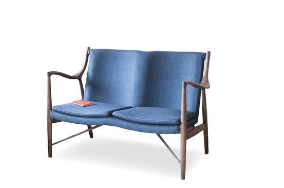 Graham ash double armchair Clipped