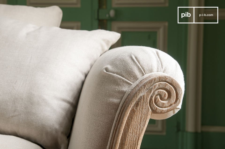 Made from linen, they are soft to the touch and are removable for easy maintenance