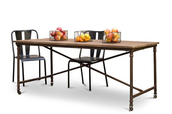 Grenelle dining table Clipped