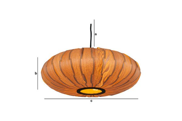 Product Dimensions Gresskar pendant light
