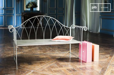Grey bench Metalo