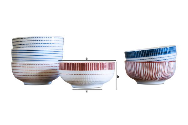 Product Dimensions Grite bowls