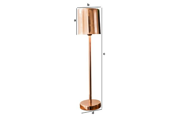 Product Dimensions Gryde table lamp
