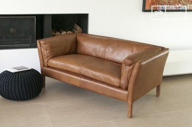 Hamar Leather Sofa