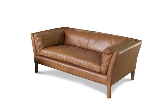 Hamar Leather Sofa Clipped