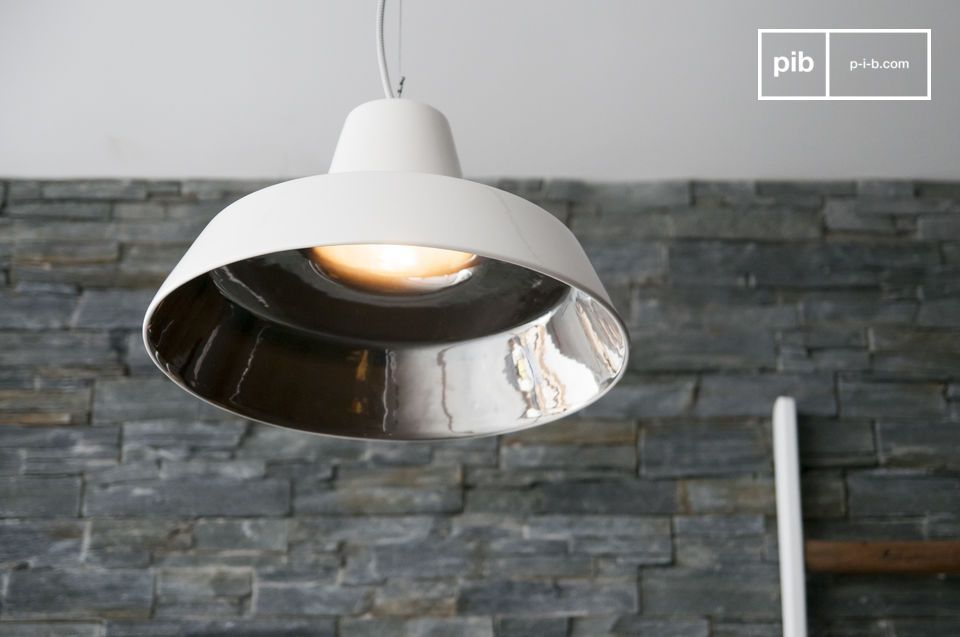 A simple designer lamp with a Nordic flair