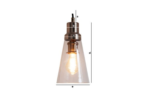 Product Dimensions Hanging lamp Konisk