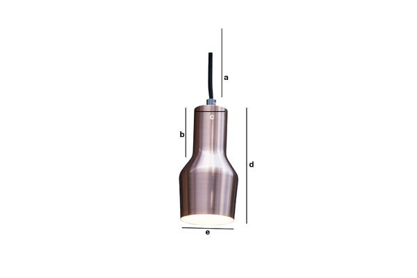 Product Dimensions Hanging lamp Segal