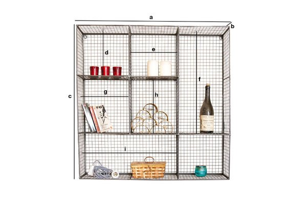 Product Dimensions Harlem Wall Rack