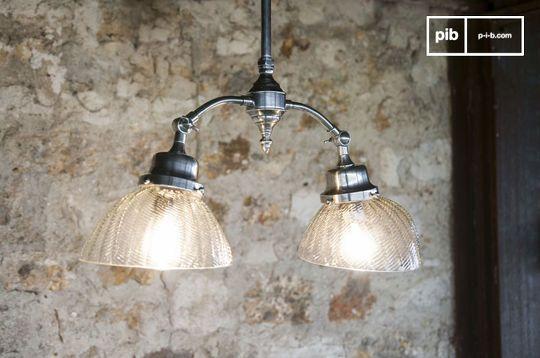 Haussmann Art Nouveau ceiling lamp