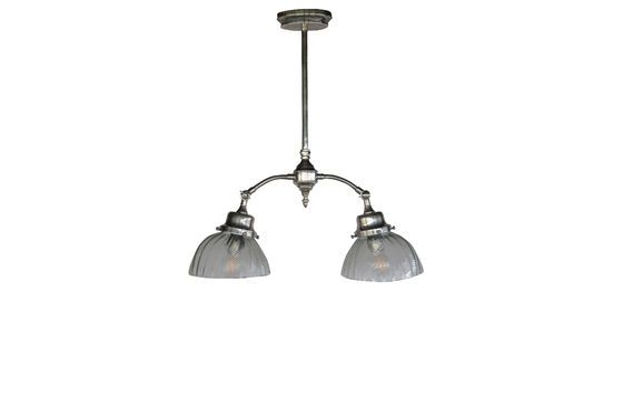 Haussmann Art Nouveau ceiling lamp Clipped