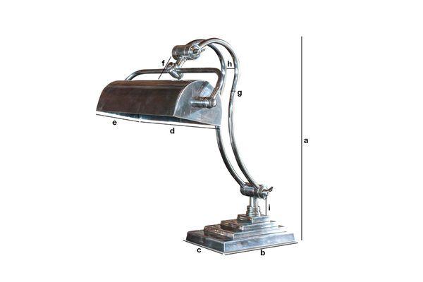 Product Dimensions Hedges desk lamp