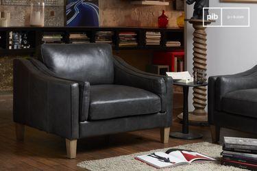 Heidsieck leather armchair