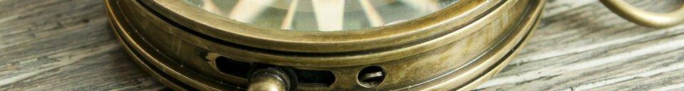 Material Details Helmsman's compass