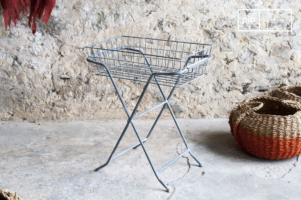 Opt for these functional storage baskets (basket is removable)