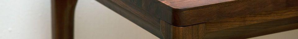 Material Details Hemët walnut console