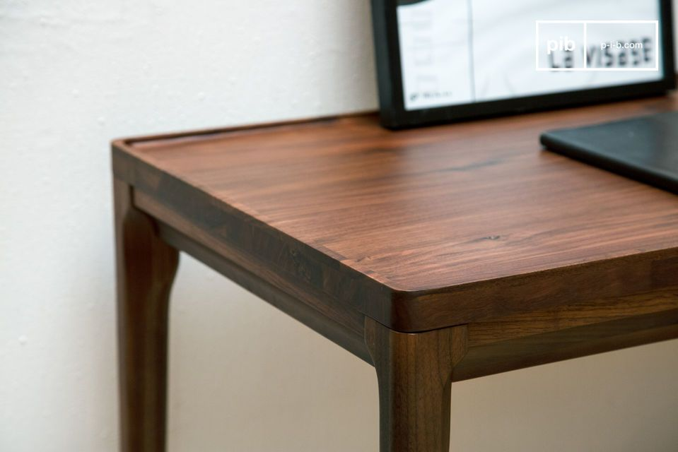 A magnificent desk console made of noble wood