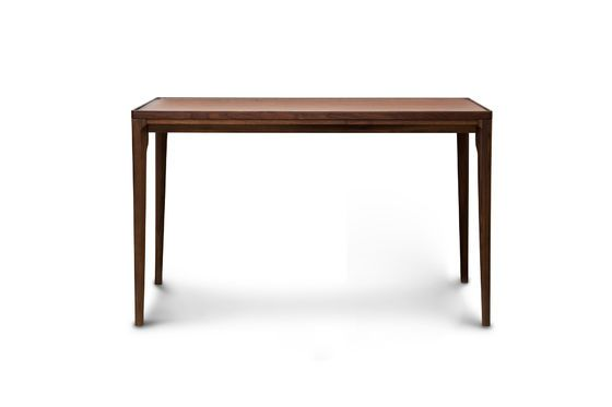 Hemët walnut console Clipped
